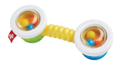 Mattel Fisher Price New Born Bongo Beads Rattle