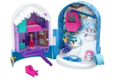 Klein Mattel FRY98 Polly Pocket Und Zimmer!