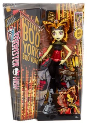 Mattel Monster High CHW62-Buh York, Luna Moth