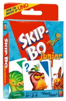 Mattel Skip-Bo junior, Kartenspiel