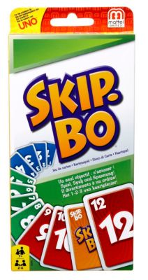 Mattel Skip-Bo, Kartenspiel