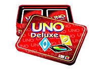 """Mattel - Uno """"Deluxe"""", Kartenspiel, in der Geschenkbox - Produktdetailbild 1"""