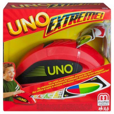 mattel Uno Extreme, 2-10 Spieler, ab 7 Jahren