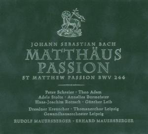 Matthäus-Passion, Mauersberger, Leipzig Gh, Schreier, Dresden Kreuzchor