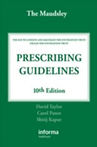 maudsley prescribing guidelines 13th edition pdf