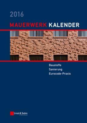 Mauerwerk-Kalender 2016, Wolfram Jäger