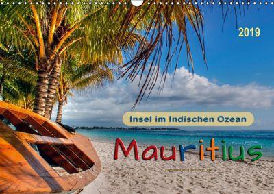 Mauritius - Insel im Indischen Ozean (Wandkalender 2019 DIN A3 quer), Peter Roder