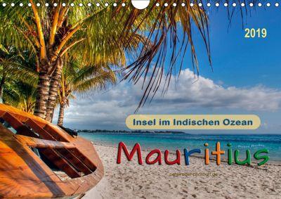 Mauritius - Insel im Indischen Ozean (Wandkalender 2019 DIN A4 quer), Peter Roder