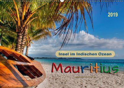Mauritius - Insel im Indischen Ozean (Wandkalender 2019 DIN A2 quer), Peter Roder