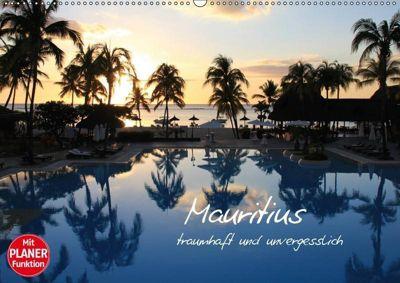 Mauritius - traumhaft und unvergesslich (Wandkalender 2019 DIN A2 quer), Jana Thiem-Eberitsch