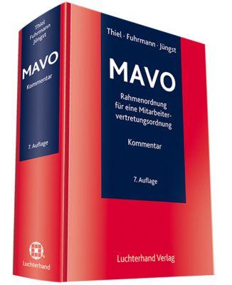 MAVO, Rahmenordnung für eine Mitarbeitervertretungsordnung, Kommentar, Adolf Thiel, Martin Fuhrmann, Manfred Jüngst