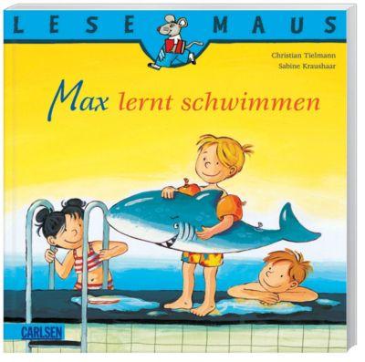 Max lernt schwimmen, Christian Tielmann, Sabine Kraushaar