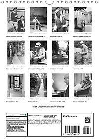 Max Liebermann am Wannsee (Wandkalender 2019 DIN A4 hoch) - Produktdetailbild 13