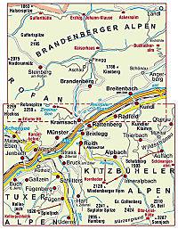 Mayr Karte Alpbachtal, Seenland - Produktdetailbild 1