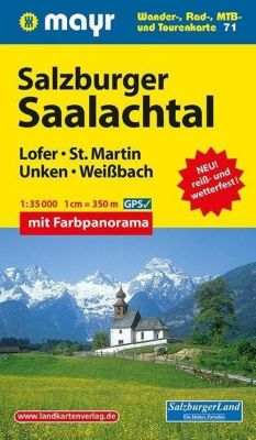 Mayr Karte Salzburger Saalachtal