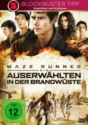Maze Runner 2 - Die Auserwählten in der Brandwüste, James Dashner