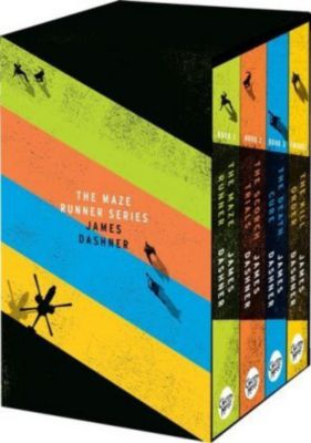 Maze Runner Series, 4 Vols., James Dashner