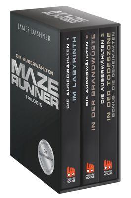 Maze Runner-Trilogie - Die Auserwählten, James Dashner