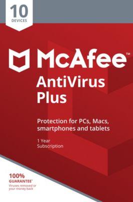 McAfee AntiVirus Plus DE (10D-1Y)