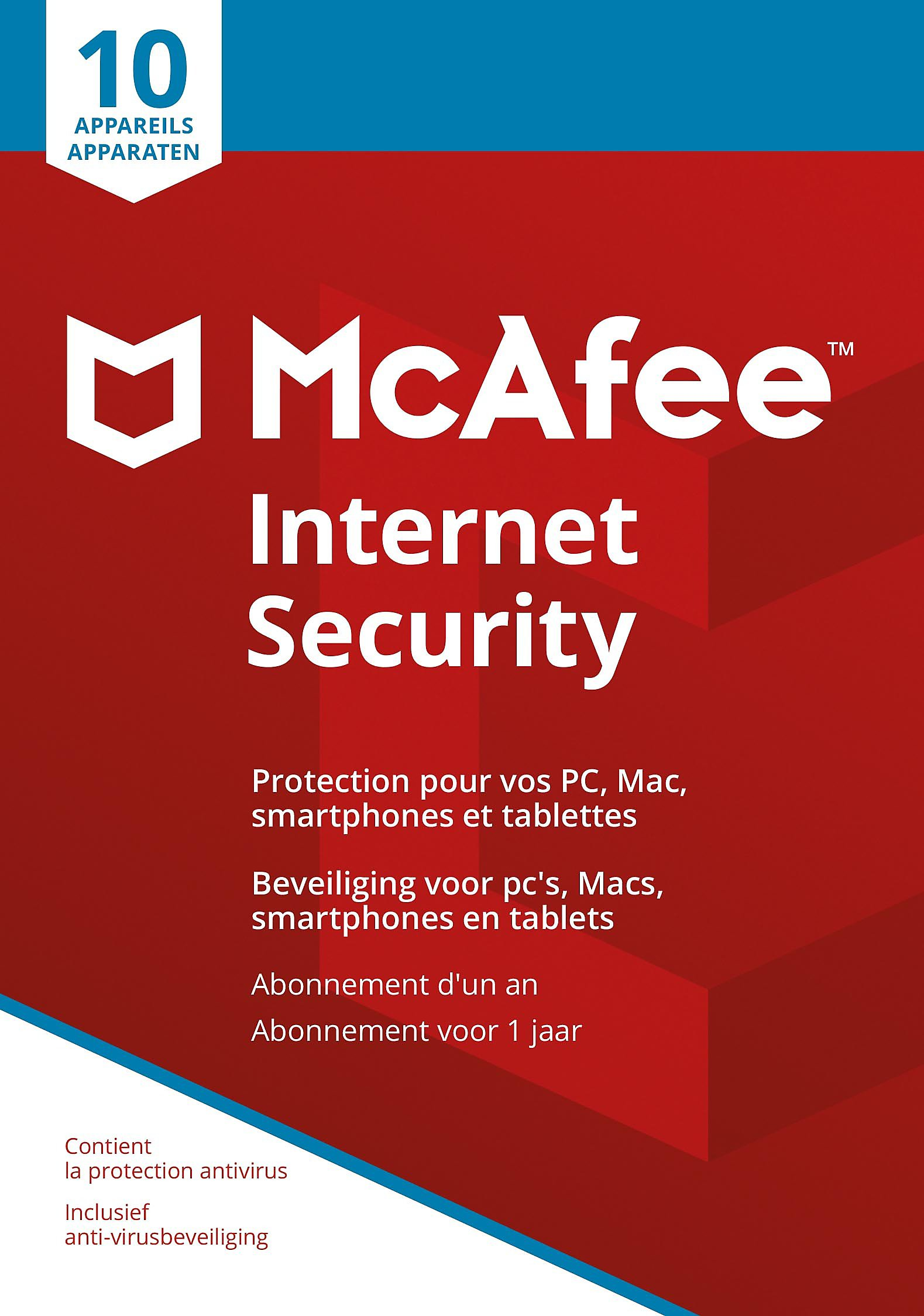 Mcafee Internet Security Be 10d 1y Software Games Download