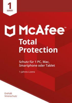McAfee Total Protection 2018 DE (1D-1Y)