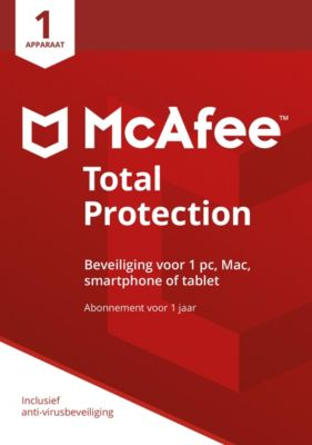 McAfee Total Protection 2018 NL (1D-1Y)