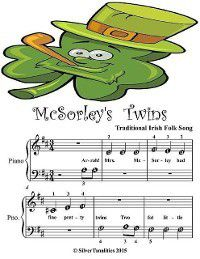 Mcsorley's Twins - Beginner Tots Piano Sheet Music, Silver Tonalities