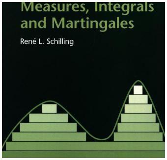 Measures, Integrals and Martingales, René L. Schilling