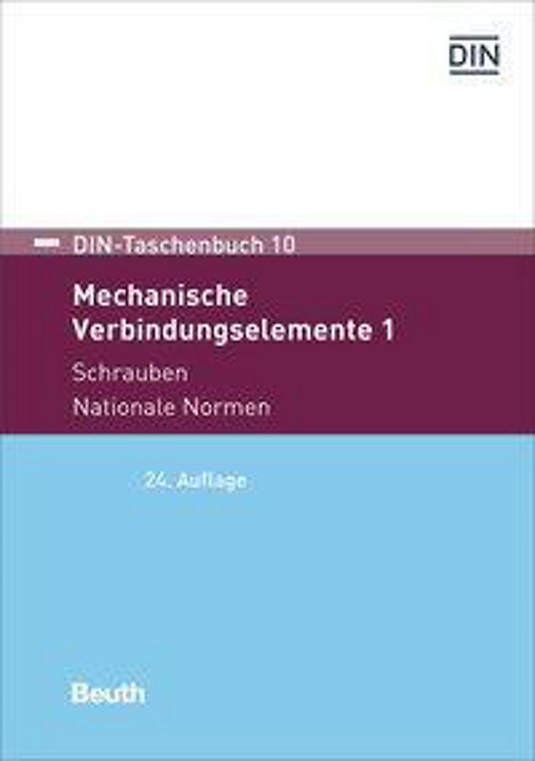 Mechanische Verbindungselemente 1 Schrauben Buch