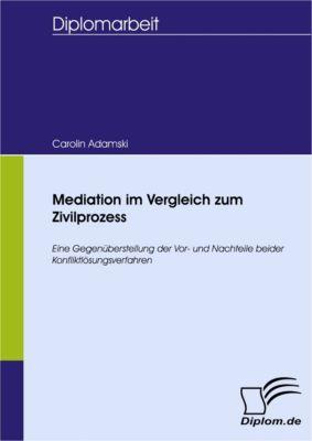 Mediation im Vergleich zum Zivilprozess, Carolin Adamski