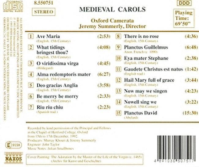 Spanische Weihnachtslieder.Medieval Carols Mittelalterliche Weihnachtslieder Cd Weltbild De