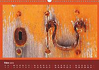 Mediterrane Türbeschläge (Wandkalender 2019 DIN A3 quer) - Produktdetailbild 3