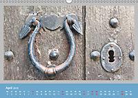 Mediterrane Türbeschläge (Wandkalender 2019 DIN A3 quer) - Produktdetailbild 4