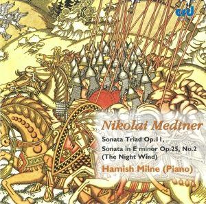 Medtner Piano Music Vol.2, Hamish Milne