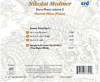 Medtner Piano Music Vol.2 - Produktdetailbild 1