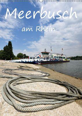 Meerbusch am Rhein (Wandkalender 2019 DIN A2 hoch), Bettina Hackstein