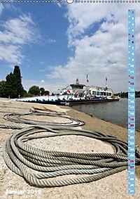 Meerbusch am Rhein (Wandkalender 2019 DIN A2 hoch) - Produktdetailbild 1