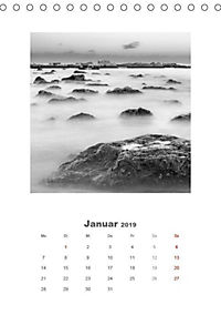 MEERESLANDSCHAFTEN IM YIN UND YANG (Tischkalender 2019 DIN A5 hoch) - Produktdetailbild 1