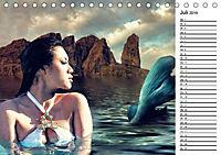 Meerjungfrauen (Tischkalender 2019 DIN A5 quer) - Produktdetailbild 7