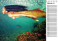 Meerjungfrauen (Tischkalender 2019 DIN A5 quer) - Produktdetailbild 2