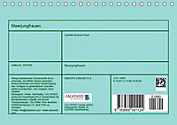 Meerjungfrauen (Tischkalender 2019 DIN A5 quer) - Produktdetailbild 13