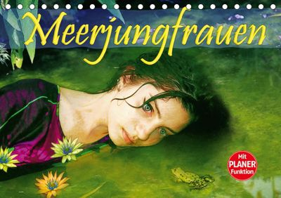Meerjungfrauen (Tischkalender 2019 DIN A5 quer), Liselotte Brunner-Klaus