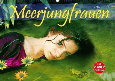 Meerjungfrauen (Wandkalender 2019 DIN A2 quer), Liselotte Brunner-Klaus