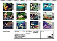 Meerjungfrauen (Wandkalender 2019 DIN A2 quer) - Produktdetailbild 13