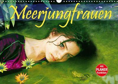 Meerjungfrauen (Wandkalender 2019 DIN A3 quer), Liselotte Brunner-Klaus