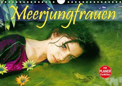Meerjungfrauen (Wandkalender 2019 DIN A4 quer), Liselotte Brunner-Klaus