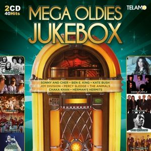 Mega Oldies Jukebox, Diverse Interpreten