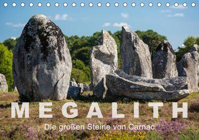 Megalith. Die großen Steine von Carnac (Tischkalender 2019 DIN A5 quer), Etienne Benoît