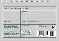 Megalith. Die großen Steine von Carnac (Tischkalender 2019 DIN A5 quer) - Produktdetailbild 13