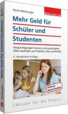 Mehr Geld für Schüler und Studenten, Horst Marburger